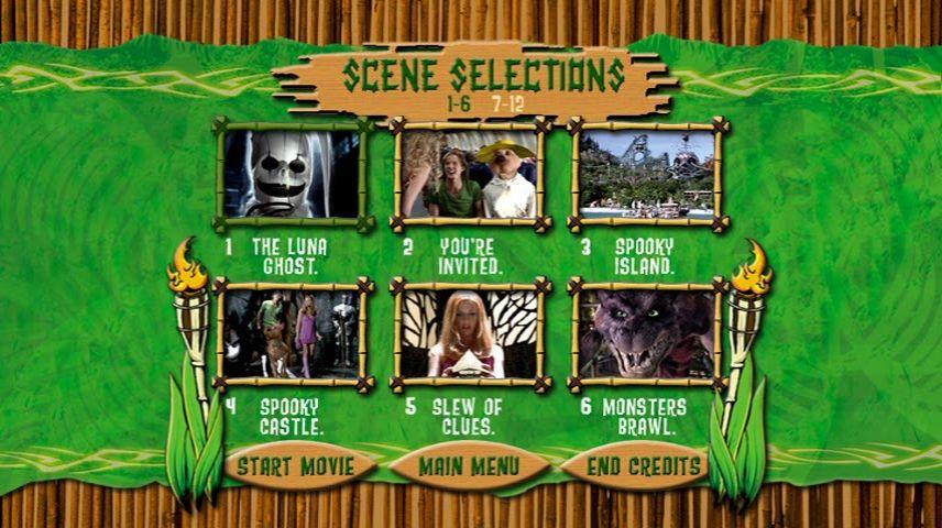 Scooby Doo 2002 Dvd Menu